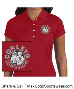 Adidas Golf Ladies ClimaLite Solid Polo Design Zoom
